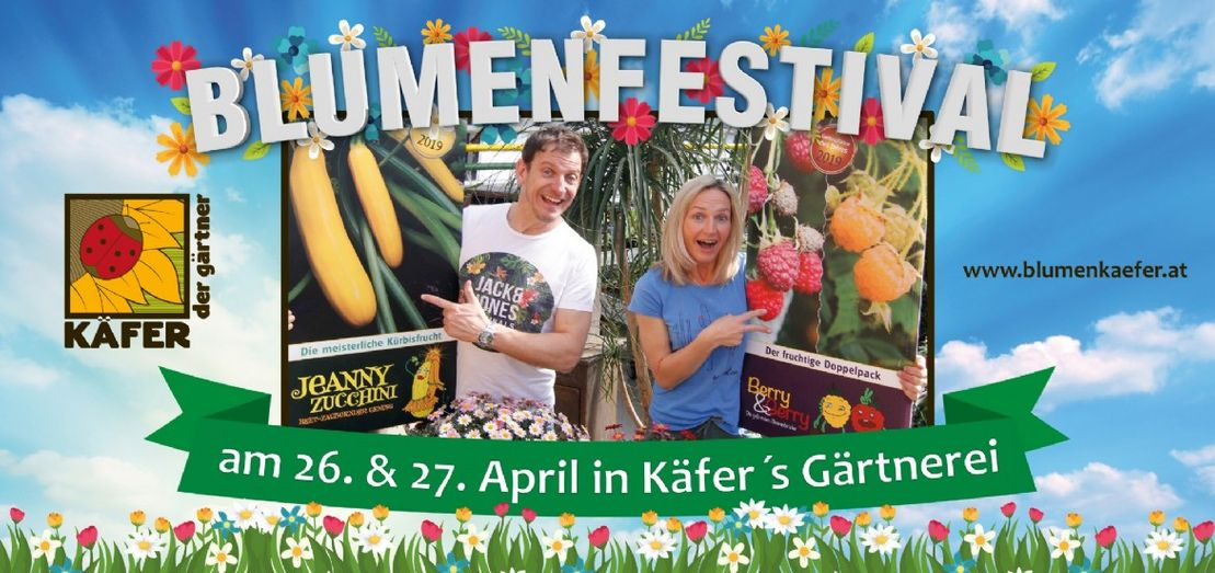 News- Käfer's Gärtnerei Blumenfestival 2019